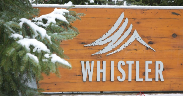 Whistler Sign