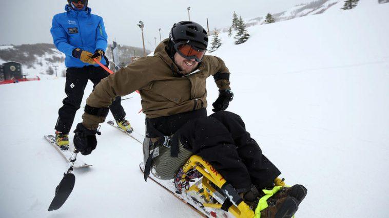 Veteran Sit Ski