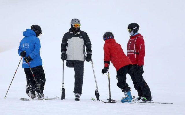 Veteran Amputee Skiing